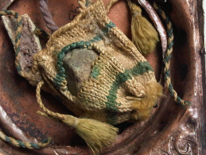 relic knitted bag