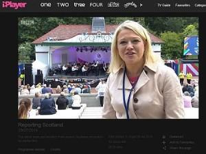BBC scotland bandstand